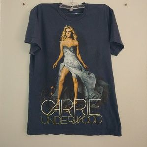 Carrie Underwood Band Graphic Tee Tour Blown Away